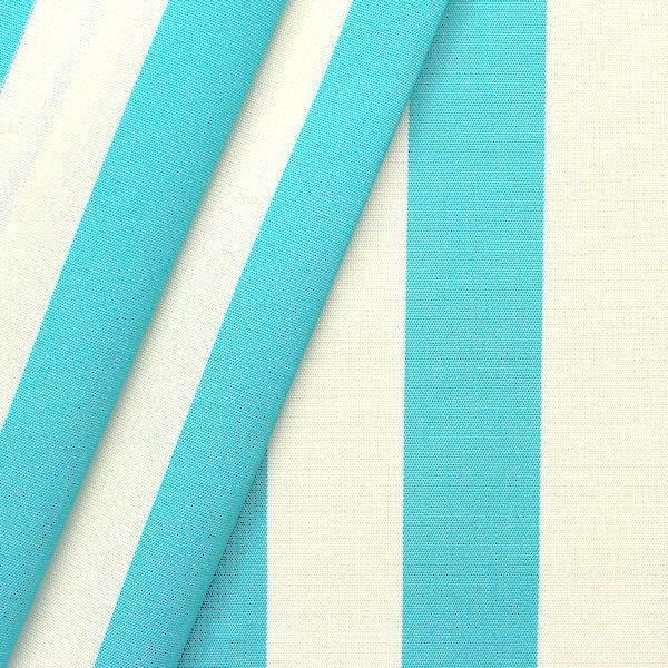 Markisen Outdoorstoff T Rkis Blau Weiss 160cm Breit