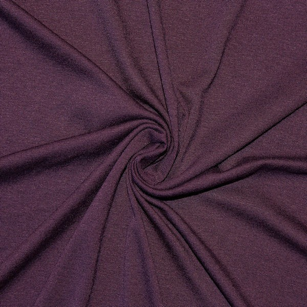 viskose stretch jersey stoff basic dunkel lila 150cm breit stoffe meterware neu ebay. Black Bedroom Furniture Sets. Home Design Ideas